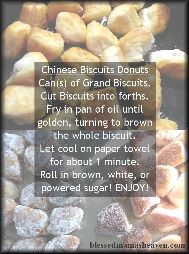 Chinese Biscuits Donuts