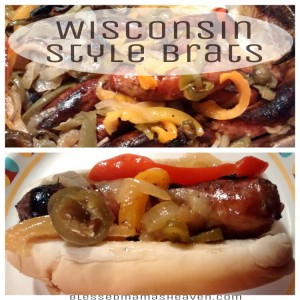 Wisconsin Style Beer Brats