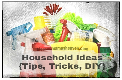 Household Ideas {tips, tricks, DIY}
