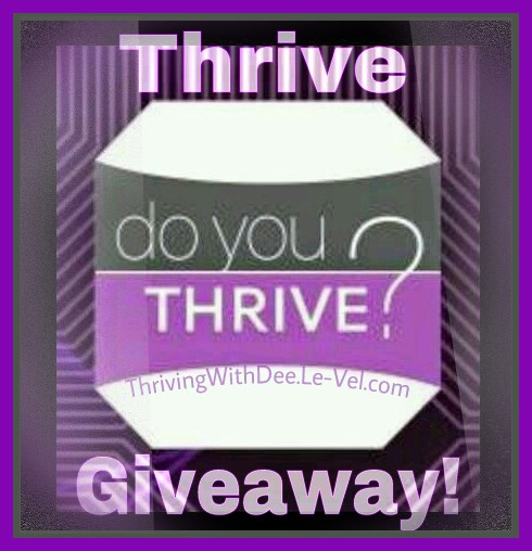 Enter my Thrive Giveaway!