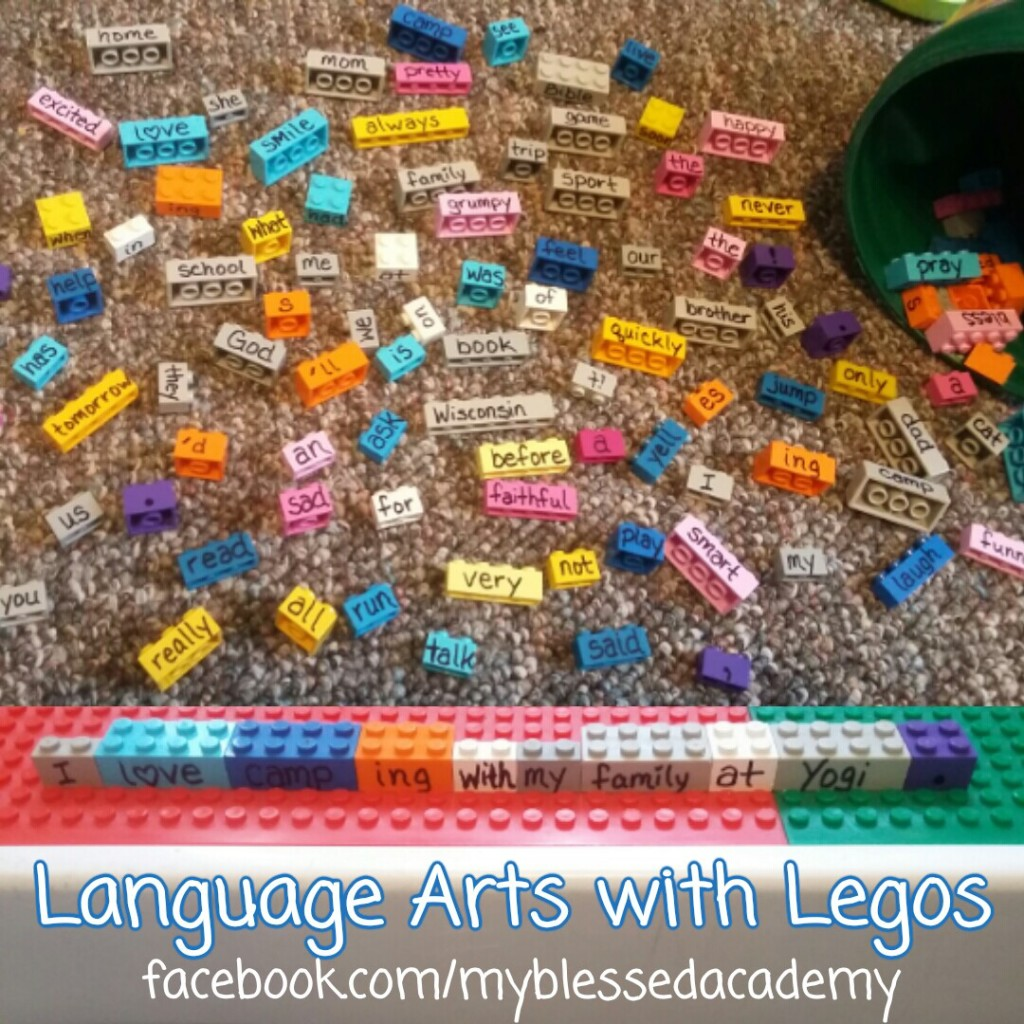 Make Language Arts fun with Legos