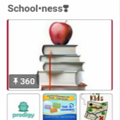 My Schoolness Pinterest board
