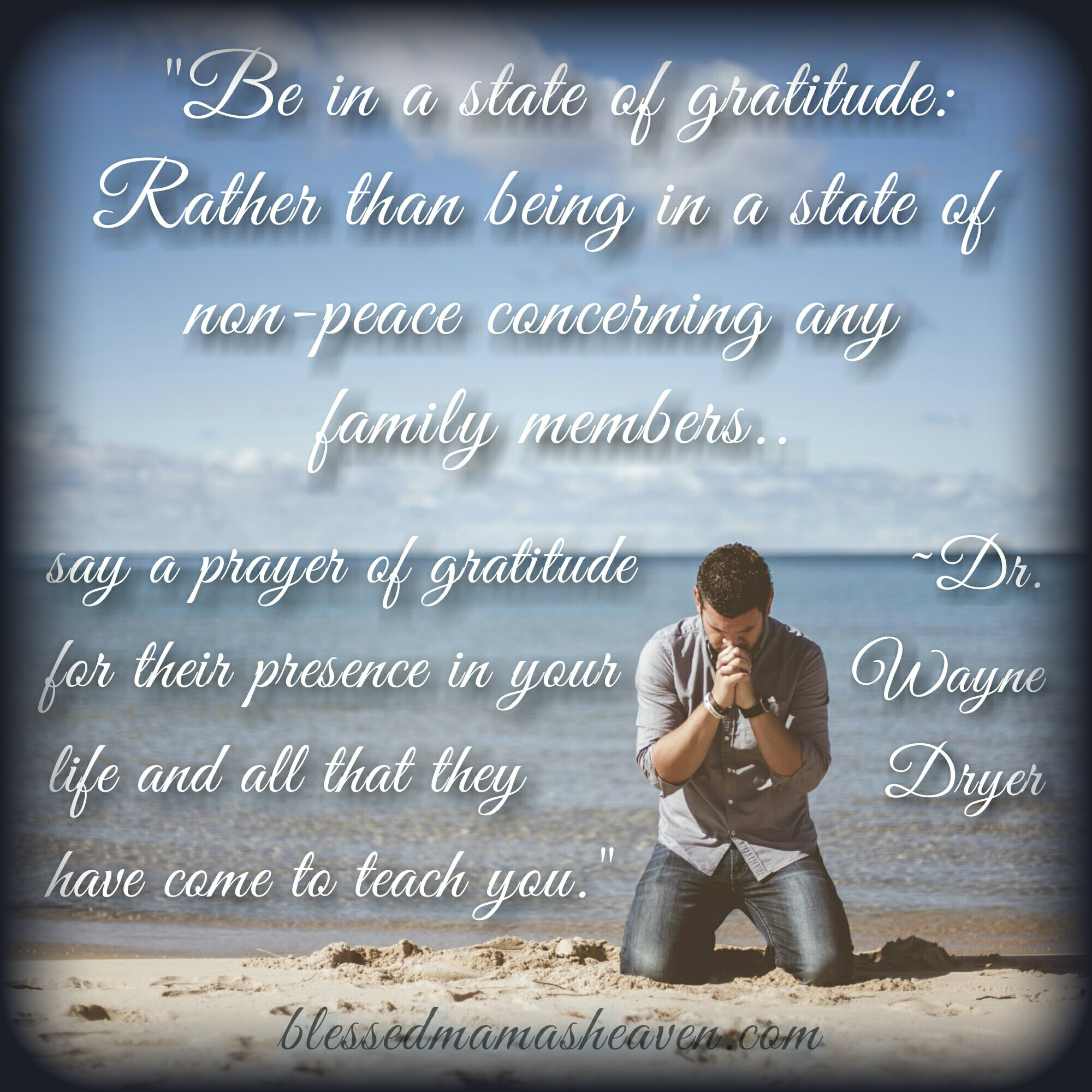 Be in a State of Gratitude