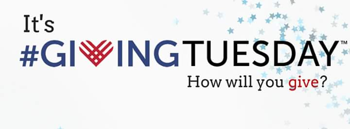 #GivingTuesday - How will you give?