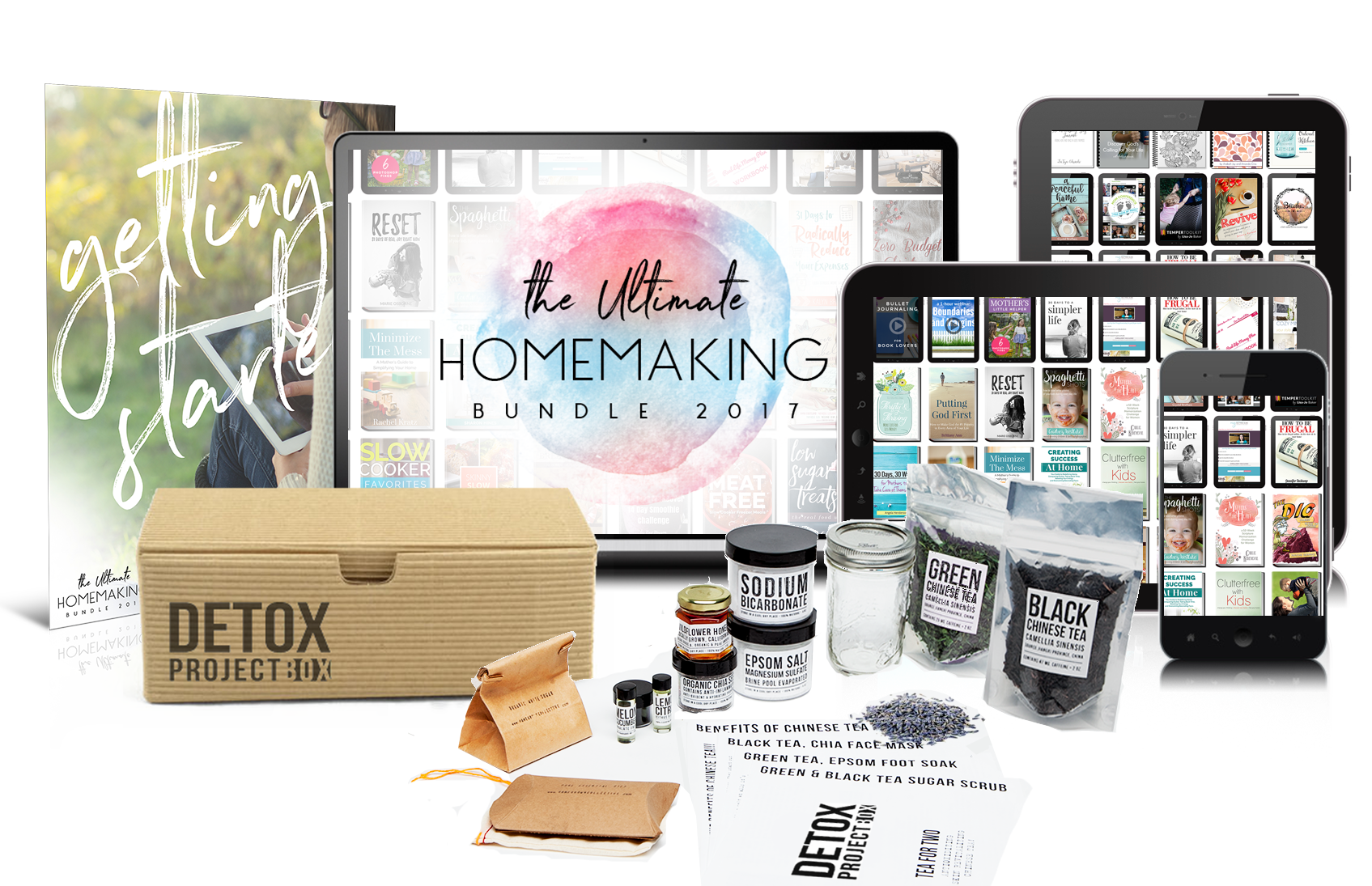 Homemaker bundle deal..all this a more for an amazing price!